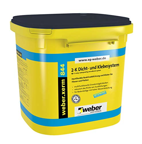 weber.xerm 844 2-K Fliesenkleber Hochflexible Reaktivabdichtung 24kg