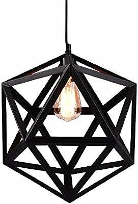 Lightoray Suspension Luminaire Socover Led Diamond Bois E27