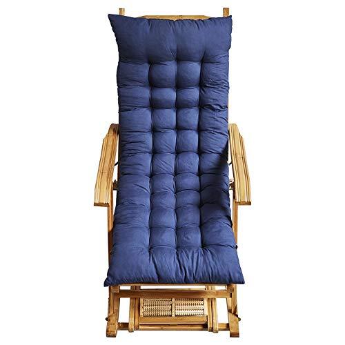 Bedframe Verstelbaar opklapbed Kampeeruitrusting Twin Bedframe Zero Gravity Chair Lounge Chair-Bamboo schommelstoel/Meerdere kleuren Optioneel (Color : Blue)