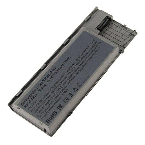ARyee 5200mAh 11,1 V D620 Batterie Laptop Akku Ersatz für Dell Latitude D620 D630 ATG D630c NT379 JD634 TD175
