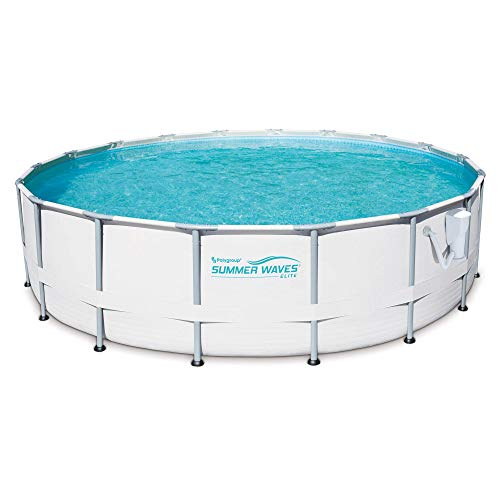 Summer Waves 16ft x 48in Elite Metal Frame Above Ground Pool Set w/ Filter Pump -  77136