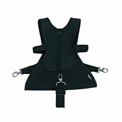 Baby Dan 3011-11-85 Sicherheitsgurt für Kinderwagen/Dan3-harness, schwarz 6-36 Monaten
