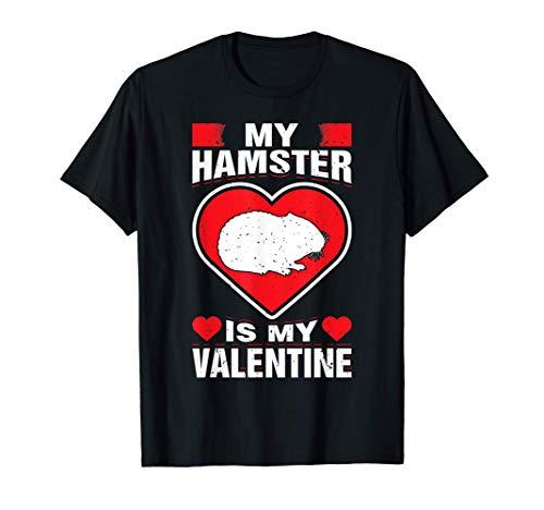 Mi hámster es My Valentine Roedor animal divertida vacacione Camiseta