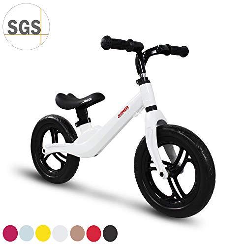 COEWSKE 12'Balance Bike Alliage de magnésium sans pédale Vélo d'entraînement d'équilibre pour...