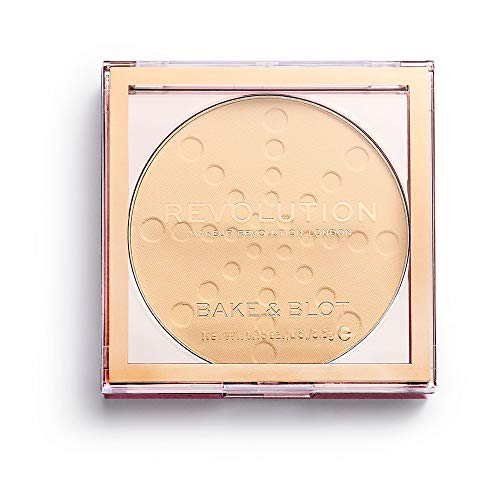 Makeup Revolution Bake And Blot Pressed Powder ~ Banana