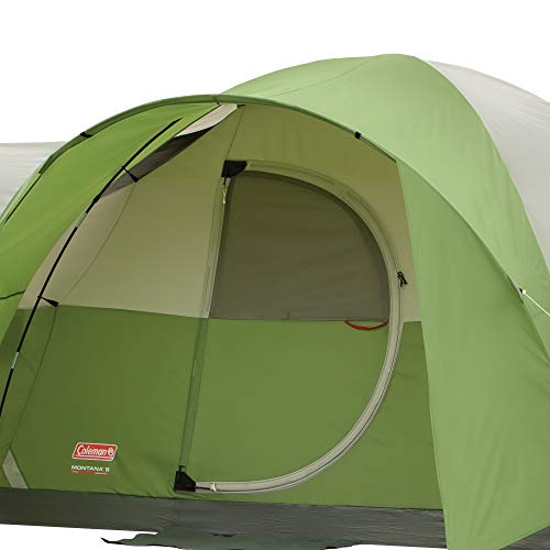 41wTQeJEG5L - Coleman 8-Person Tent for Camping | Montana Tent with Easy Setup