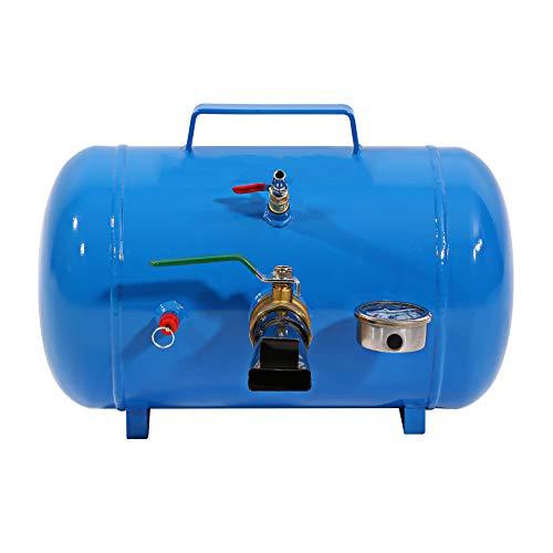ROSEBEAR Inflator Blaster 5 Gallon Tire Bead Seater Tire Tanque de Aire para Camión Blue