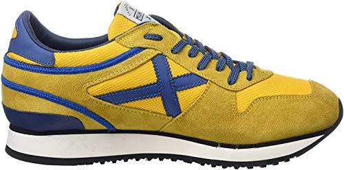 Munich Nou, Zapatillas Unisex Adulto, Amarillo (Amarillo/Azul 55), 41 EU