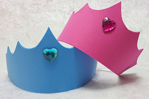 Sleeping Beauty Aurora Tiara Crown Party Favors (Party Pack - Available in sets of 6, 8, 10, or 12)