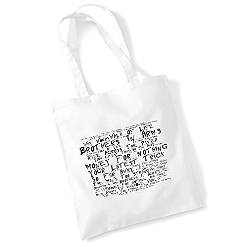 LISSOME Art Studio Tote Bag - Dire Straits - Brothers In Arms