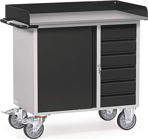 Fetra Werkstattwagen 12450/7016 Ladefläche 985 x 590 mm