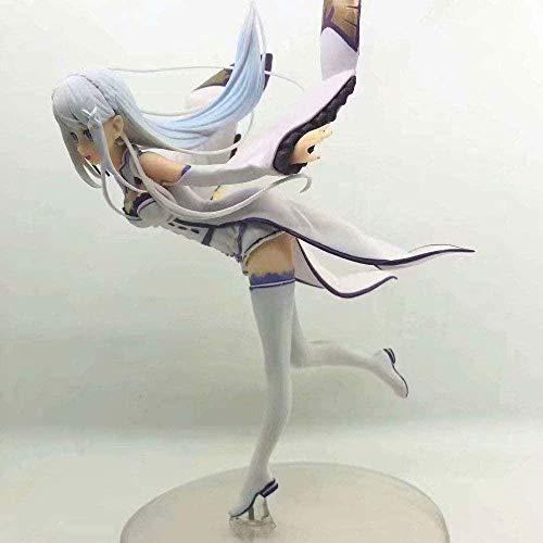 SHUMEISHOUT La nueva vida en un mundo diferente desde cero Emilia Emilia Feizi en caja figuras de anime decoraciones estatuas modelos de muñecas colección juguetes altura 25cm