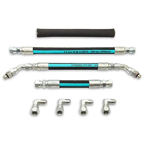 Bomba de Aceite de Alta presión, mangueras Hpop, Juego de Accesorios Cruzados para Ford 99-03 OBS Powerstroke Diesel 7.3L