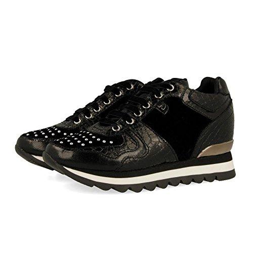 Gioseppo 46085-P, Zapatillas Mujer, Negro, 40 EU