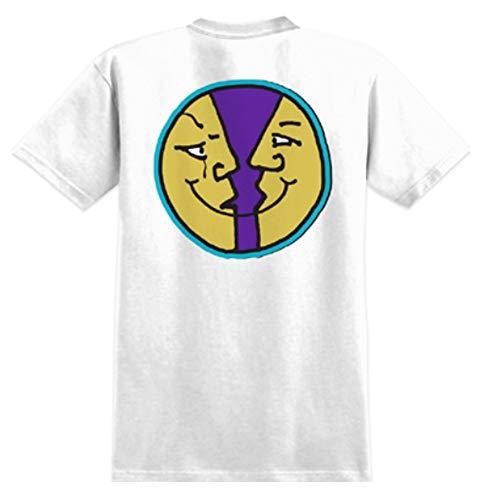Krooked Skateboarding MOONSMILE 2 White/Purple (M)