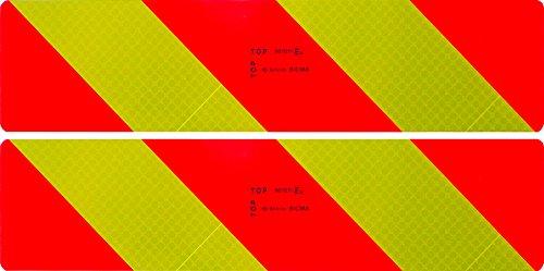 Cora 000103204 Reflektierende Warntafeln für zugelassene Fahrzeuge, 2er-Set