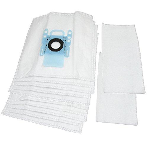Spares2go Micro Fleece stofzakken voor Bosch Ultra Silence Stofzuigers (Pak van 5, 10 of 20) 10 Bags