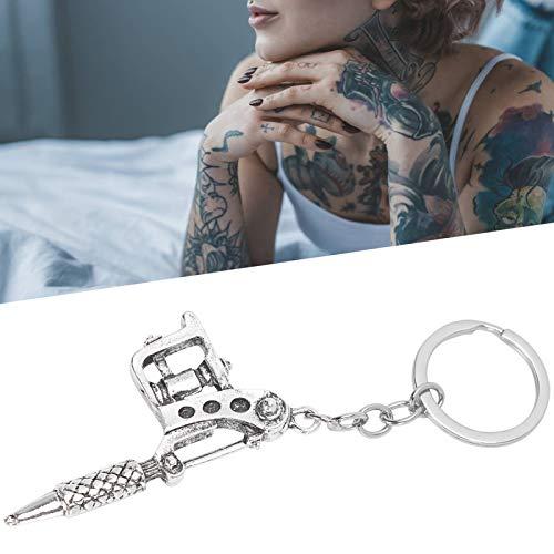 Porte-clés, porte-clés de machine à tatouer punk, pour sac à clés