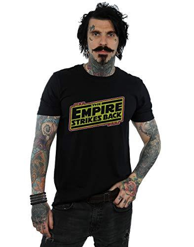 Star Wars Hombre The Empire Strikes Back Logo Camiseta