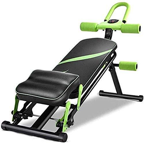 mjj Banco de pesas ajustable con respaldo ajustable, silla de entrenamiento de fuerza, asiento para gimnasia, bicicleta estática