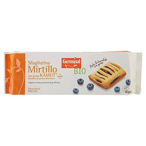 Germinal Bio Sfogliatina Mirtillo Kamut - 200 g