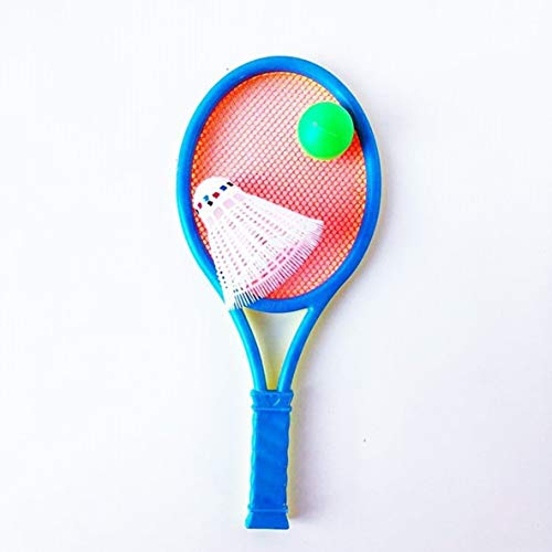 nbvmngjhjlkjlUK Raqueta de bádminton Juguetes para niños Raqueta de Tenis Traje de Raqueta (Color Aleatorio)