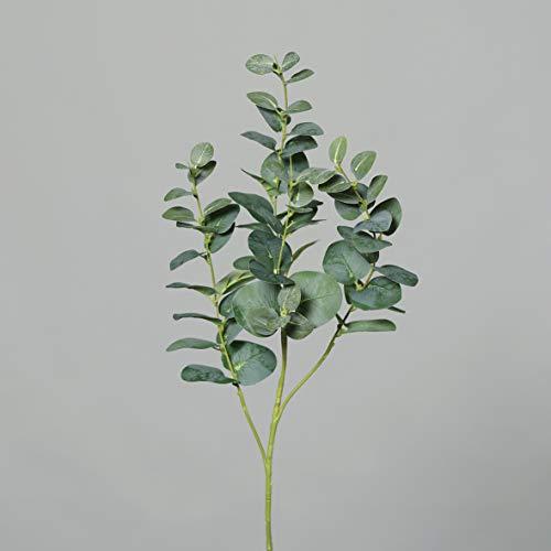 Seidenblumen Roß Eukalyptuszweig 95cm grün DP Kunstzweig künstliche Zweige Kunstpflanzen künstlicher Eukalyptus