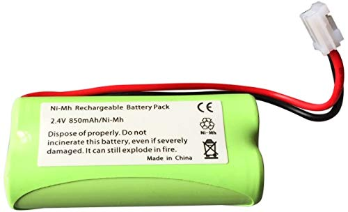 ABC Products® Remplacement Tomy Batterie / Pile LP175N / TP71028B pour TD300, TD350, TF525 Ecoute Bebe Digital Plus / Baby Infant Monitor / Babyphone etc