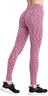 Mujeres Entrenamiento Poliéster Jeggings S-XL 3 Colores Casual Push Up Leggings Transpirable Delgado Leggings Mujer (Color : Red, Size : M)