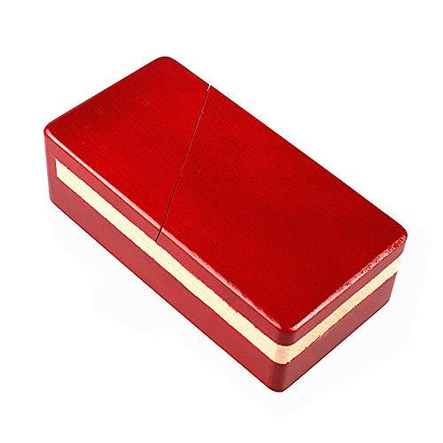 Zernnis Magic Mysterious Box Secret Madera Rompecabezas Caja de Bloqueo Compartimiento Regalo Caja de Rompecabezas