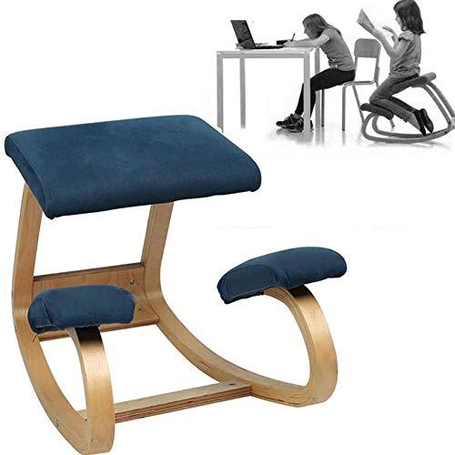 Sillas de rodillas ErgonómicamenteSilla ergonómica para arrodillarse, silla de corrección espinal...