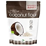 Sukrin Organic Fairtrade Fat-Reduced Coconut Flour, Gluten-Free, Low Carb, High-Fibre, produced from pure, raw coconut,...