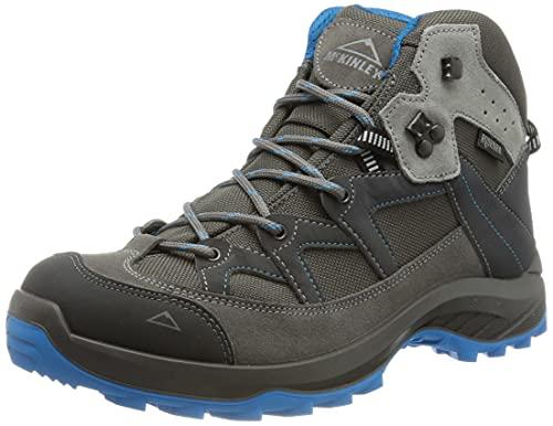McKINLEY Damen Trekkingstiefel Discover Mid AQX Trekking-& Wanderstiefel, Grau (Anthrazit/Hellgrau 000), 37 EU