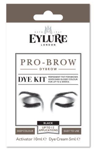 Eylure pro-brow Dybrow Dye Kit- Black by Original Additions (English Manual)