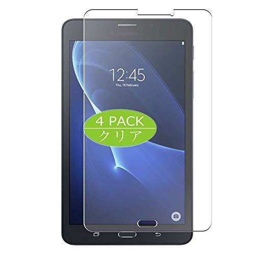 VacFun 4 Piezas Claro Protector de Pantalla, compatible con Samsung Galaxy TAB J MAX T285YD 7' JMAX, Screen Protector Película Protectora(Not Cristal Templado) NEW Version