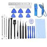 21 in 1 Profi Reparatur Werkzeug Set Tool kit für Handy und Smartphone & Multimedia oder andere Kleingeräte