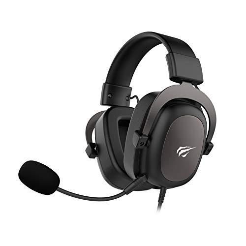 Headphone Fone de Ouvido Havit HV-H2002d, Gamer, com Microfone, Falante 53mm, Plug 3, 5mm: compatível com XBOX ONE e PS4, HAVIT, HV-H2002d