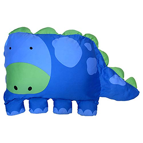 MILO & GABBY The Original Kids Animal Pillowcase, Dylan the Dinosaur