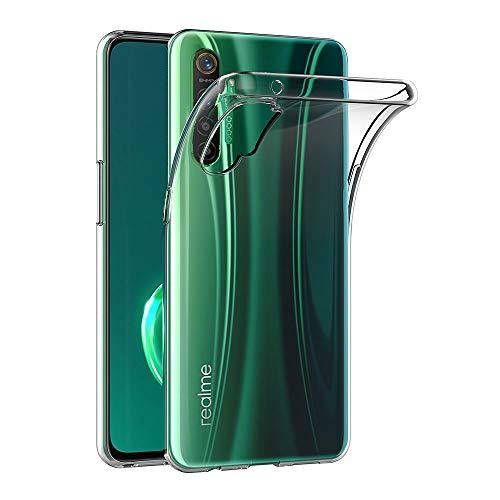 AICEK Hülle Compatible für Realme X2 / Realme XT Transparent Silikon Schutzhülle für Realme X2 Hülle Clear Durchsichtige TPU Bumper Realme XT Handyhülle (6,4 Zoll)