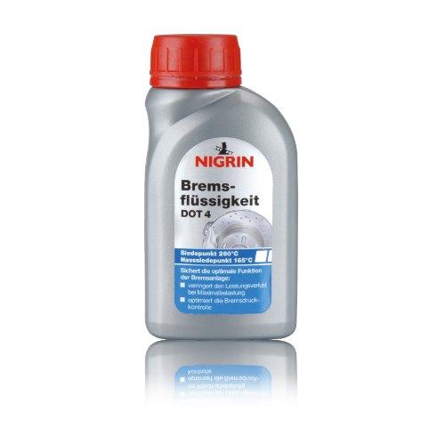 NIGRIN 74081 Bremsflüssigkeit DOT4, 250 ml