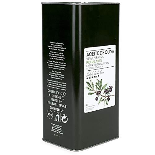 Aceite de Oliva Virgen Extra Primer Prensado en Frío Envase Lata Metal Lata 5 L