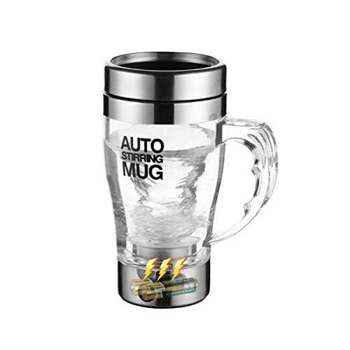 Huijunwenti Taza mezcladora Completamente automática, Taza de café Perezosa portátil eléctrica, Taza...
