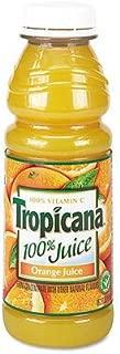 Tropicana Orange Juice With Calcium, 15.20-Oz bottle - Pack of 12