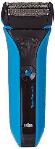 Braun WaterFlex WF2s Máquina de afeitar de láminas Recortadora Negro - Afeitadora (Máquina de afeitar de láminas, Negro, LED, Batería, Ión de litio, 1 h)