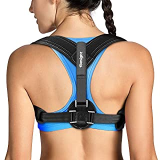 Tomight Back Posture Corrector for Women & Men, Adjustable Back Brace to comfortably Improve Posture-Clavicle Support for Slouching & Hunching-Upper Back/Relief Neck Shoulder Pain (B07TFC2W2P) | Amazon price tracker / tracking, Amazon price history charts, Amazon price watches, Amazon price drop alerts