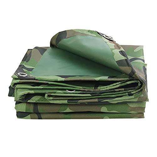 AWSAD Lona Plástico Impermeable Gruesa Lona Cubierta Impermeable Lona PE Duradera para Cubierta Exterior Tienda Barco, 25 Tamaños (Color : Green, Size : 8x12m)