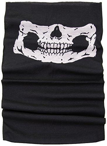 Máscara de esqueleto de calavera Mayhem, tubo iridiscente, pasamontañas, snowboard, moto X, protección…