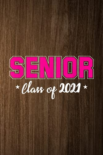 Outfit Planner Log Book: Class Of 2021 Senior High School College Graduation Gifts