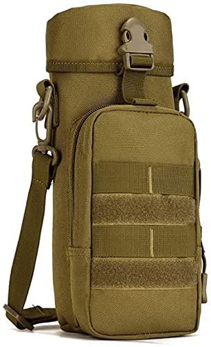 YGYGYG Tactical Water Bottle Bag Pouch 800ml Porta Bollitore a Spalla con Cinghia da Esterno