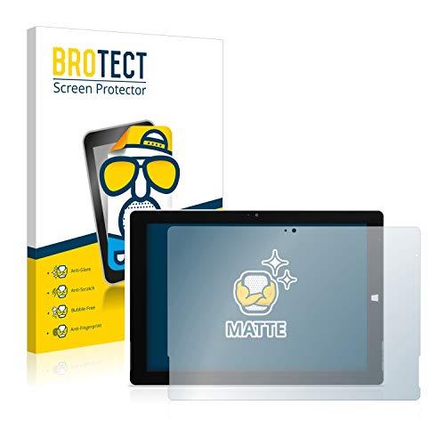 BROTECT 2X Entspiegelungs-Schutzfolie kompatibel mit Wortmann Terra Pad 1062 Bildschirmschutz-Folie Matt, Anti-Reflex, Anti-Fingerprint